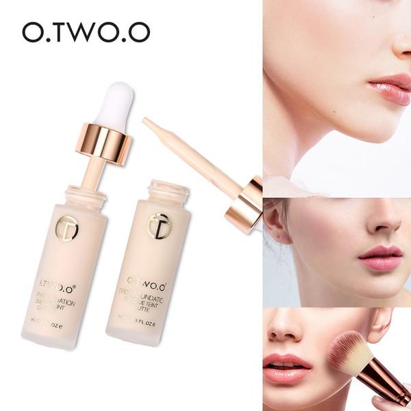 O.TWO.O Base de Maquiagem Primer Base Líquida Rosto Primer Contour Paleta Concealer Clareamento Ilumine Natureza Maquiagem Cosméticos