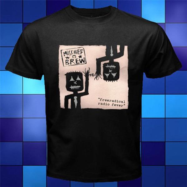 Design T Shirt Mischief Brew Free O-Neck Short Sleeve Office Mens Tee