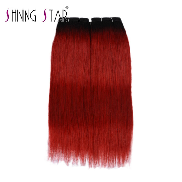 armadura de cabello humano estrella brillante remy indio trama de cabello humano gran remy cabello humano 3 trama