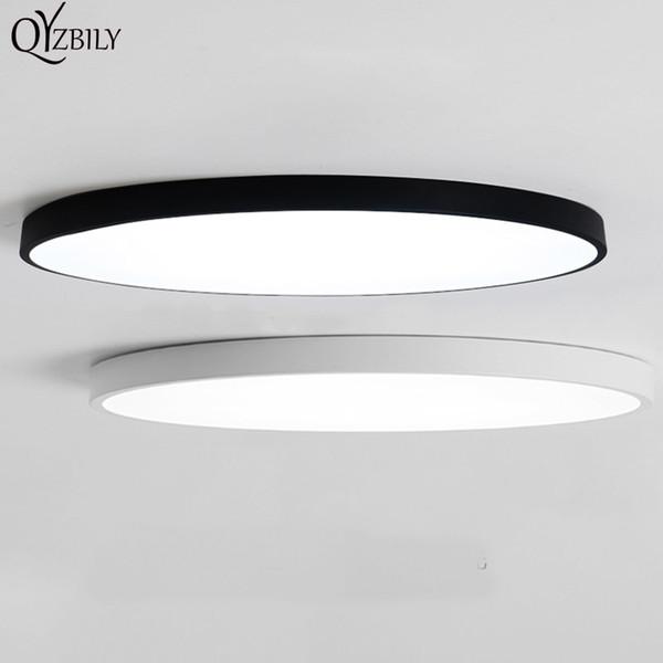 Светодиодные подвесные светильники Luminaria потолочный светильник круглый простые украшения светильники исследование столовая домашнего освещения спальня высокая 5 см