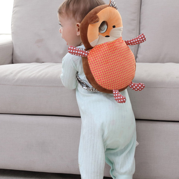 top popular Newborn Baby Head Protection Pad Headrest Animals Pillow Neck Drop Resistance Cushion Plush Toy FJ88 2019