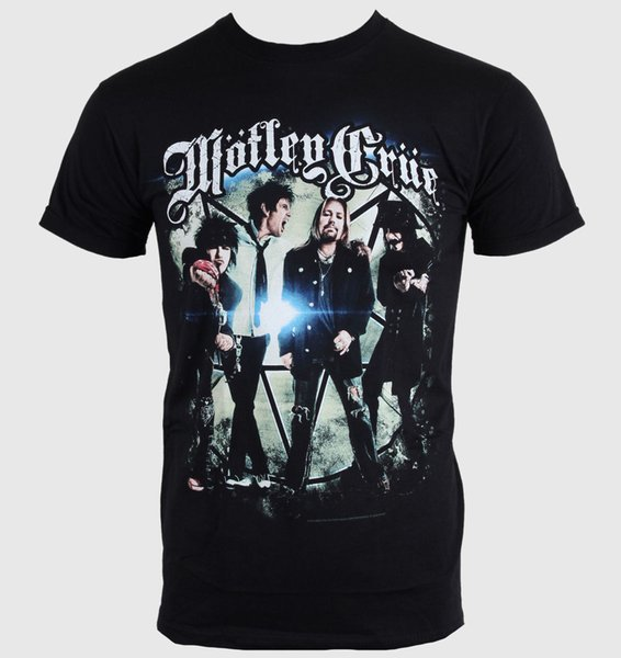 Herren T-Shirt Mötley Crüe - Group Photo - ROCK OFF - Größe XL