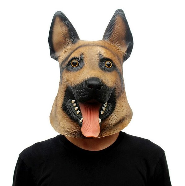 Halloween Mask Christmas Prom Wolf Dog Styling Mask Party mask game funny party