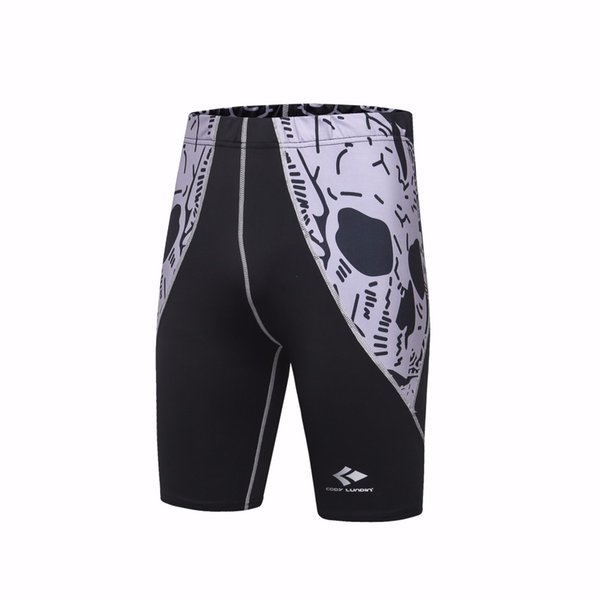 Hot sales Mens Shorts Stretch Compression Quick Dry Slim Fit Utility Shorts Summer Thermal Base Layer compression men