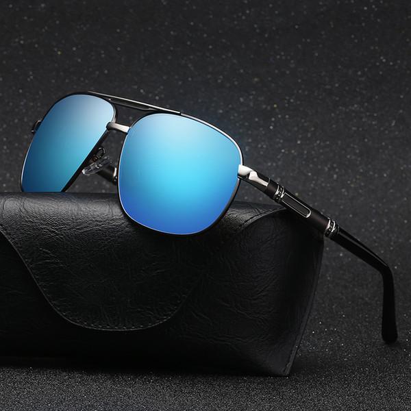 2018 Marque Designer HD Polarisé Oculos mode Hommes Femmes Lunettes De Soleil UV400 Protection Lunettes De Soleil hommes conduite lunettes avec boîte