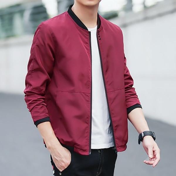 Yeni Casual Ceketler Erkekler Moda Beyzbol Jackest Mens Moda Giyim Bombacı Ceket Kaban Erkek Jaqueta Masculina Ücretsiz Kargo