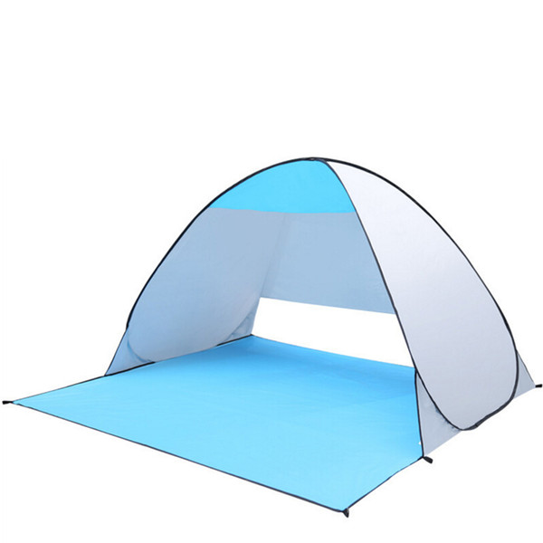 Best Price 2 Persons Automatic Pop Up Folding Tents Family Tents Beach Tent Sun Shelter for Traveling / Camping