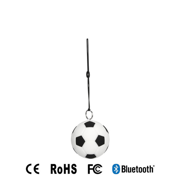 2018Portable Football Mini Wireless Bluetooth Speaker Football Shape Creation Wireless Bluetooth Speaker For Iphone/Samsung Fast DHLShipping