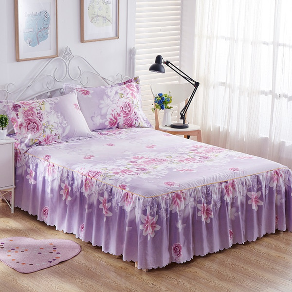 California King Bed Skirt.Bedding Sets King Queen Bed Skirt Sheet Set Flowers Linens Bed Mattress Cover Bedspread Bedding 1 Skirt 2 Pillowcase15 California King Bedding Sets