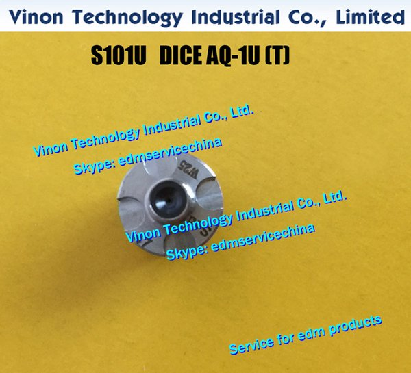 d=0.255mm edm DICE AQ-1U(T) S101U J17110A New Style Upper Wire Guide AQ-1U(T) 0.255mm for AL series CNC Wire-CUT edm machine edm spare parts