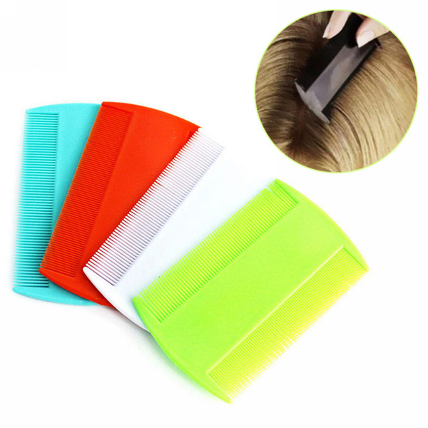 Double Sided Head Lice Comb Protable Fine Tooth Head Lice Flea Nit Hair Combs for Styling Tools
