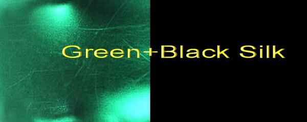 Green+Black Silk