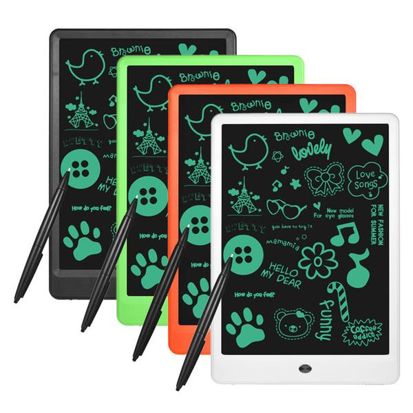 10.1 polegada LCD Escrita Tablet Prancheta Paperless Digital Notepad Reescrito Pad para Desenhar Nota Memo Lembrar Mensagem crianças criança