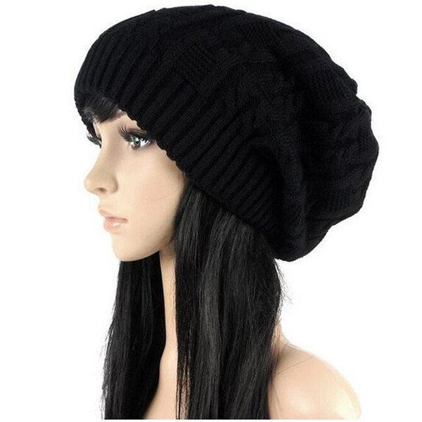 4cb0117274f Sell Like Hot Cakes Fashion Caps Warm Autumn Winter Knitted Hats For Women  Stripes Double-