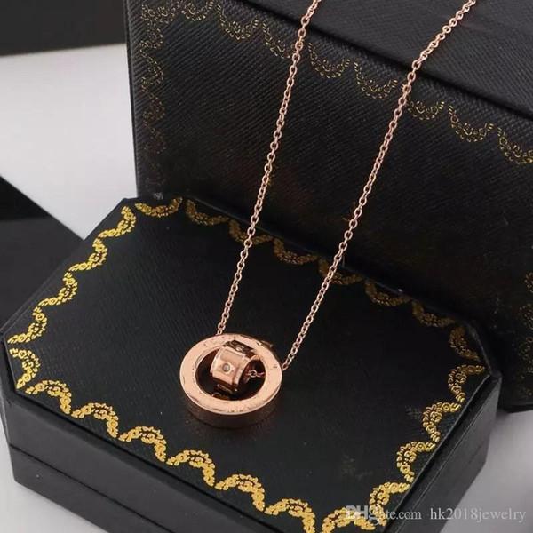 Hot Nlm99 homens pingente de colar de presente amor jóias famosa marca 316L de aço inoxidável na moda Colar Bulgária
