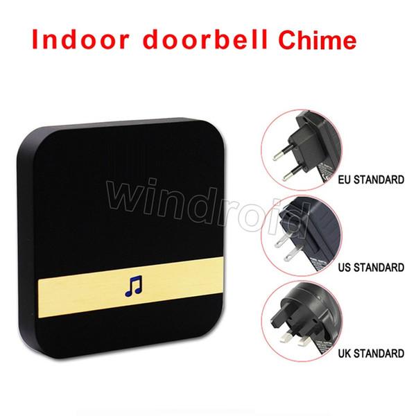 Беспроводной дверной звонок плагин перезвон внешний Добро пожаловать дверной зв