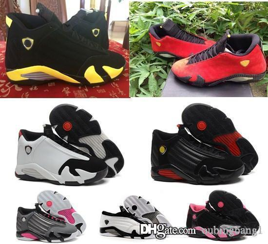 Originals 14 women basketball shoes online cheapest best quality authentic sneakers US size 5.5-8.5 free shipping with box