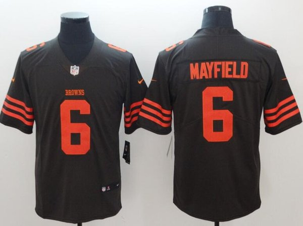 promo code 089bc b16a1 6 Baker Mayfield Jersey Cleveland Browns Denzel Ward Carlos Hyde Camo  Salute Service American Football Jersey 100% Stitched Top Quality Hilarious  T ...