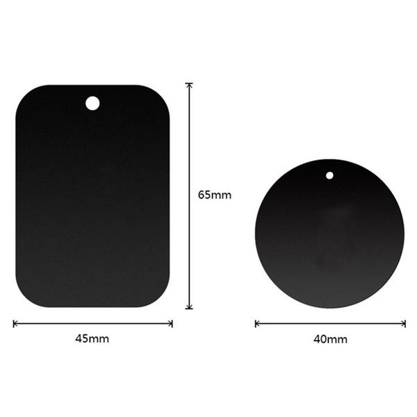 Disco da placa de metal da substituição do carro para o suporte magnético da montagem de GPS do telefone do traço do carro