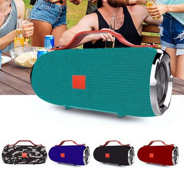 X91 Inalámbrico Altavoz Bluetooth Subwoofer Deportes Audio al aire libre Mini Altavoz portátil de mano Red de cajas de alta fidelidad con 1200mAh banco de potencia