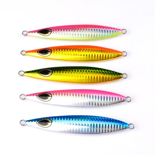 Big game lead jigs 60g 100g 160g Saltwater slow jig fishing baits Fishing Metal fishing Lures tackle