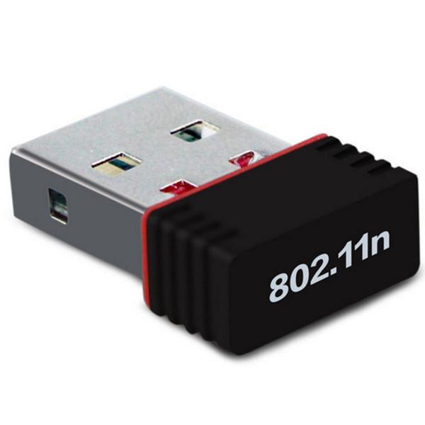 150M USB Wifi Wireless Adapter 150Mbps IEEE 802.11n g b Mini Antena Adaptors Chipset MT7601 Network Card 100pcs Free DHL