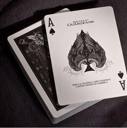 Theory11 Bicycle Guardians Playing Cards Original Poker Cards for Magician Collection Card Game