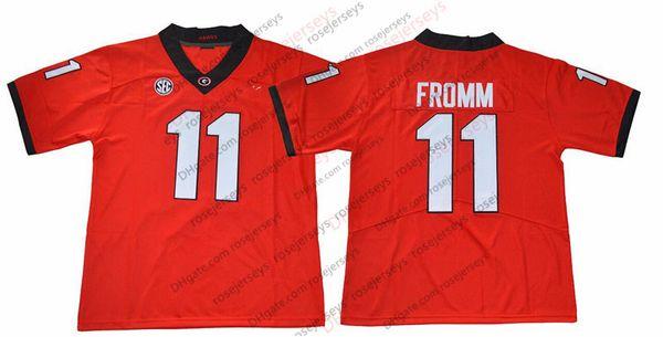 11 Jake Fromm Rojo