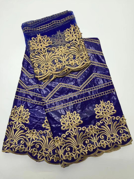 африканский синий Базен Riche ткань африканская Базен Riche фирма getzner броде Базен Riche ткань Гвинея парчи ткань чистая кружева блузка