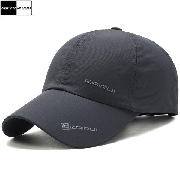 [Northwood] Solid Summer Cap Branded Gorra de béisbol Deportes al aire libre Hombres Mujeres Dad Cap Bone Snapback sombreros para hombres Bones Masculino
