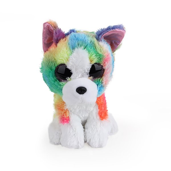 Ty Beanie Boos Big Eyes Owl Cat Elephant Penguin Leopard Foxy Dog Rabbit Giraffe Panda Monkey Stuffed Animals Plush Toys