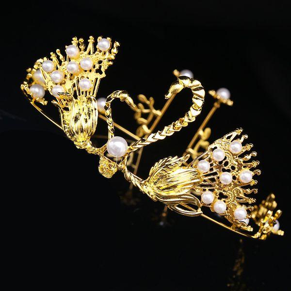 Princess Classic Bride Headpieces Tiaras Tiaras Crowns Crystal for Wedding New Fashion Vintage Wedding Bridal Crystal Rhinestone Hair Acces