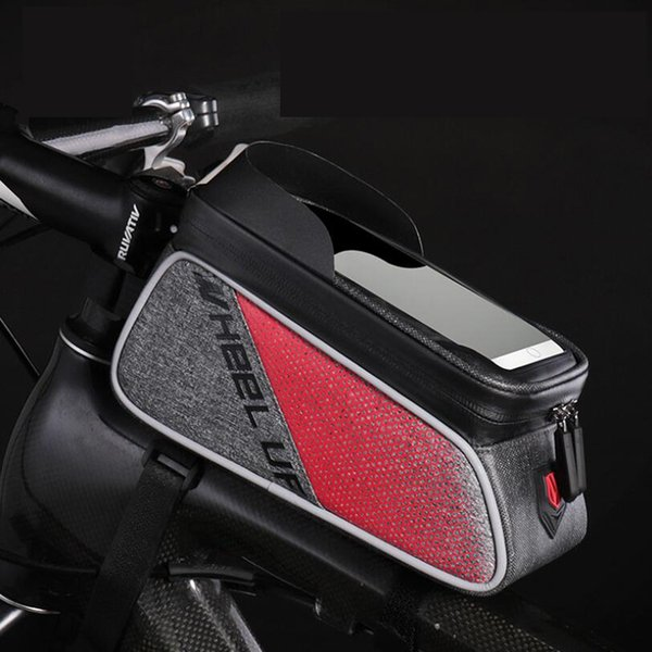 Bike Bag Bicycle Waterproof Bags Cycle Touch Screen Phone Bags MTB Mountain Front Pack Top Tube Pocket Bike Cycling Pouch