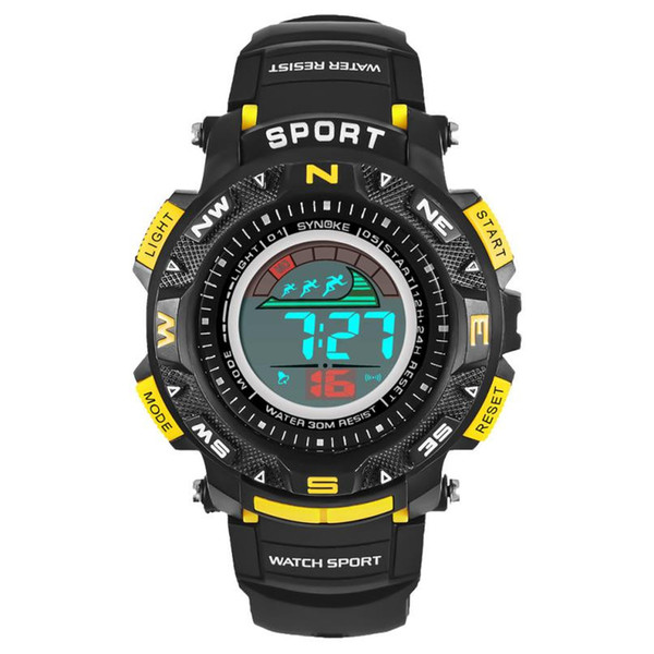 men sports watches luxury digital LED electronic watches multifunction outdoor waterproof  watches