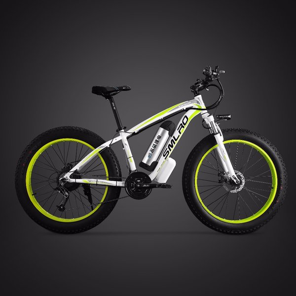 26inch electric bicycle 48V500W fat e-bike snow 4.0 tries off-road electric mountian bike