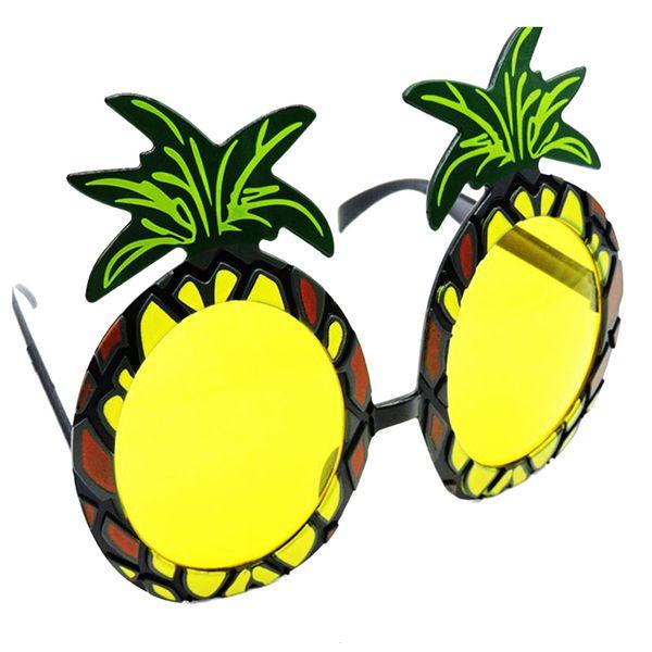 Unisex Beach Hula Party Fruit Pineapple Gafas de sol Party Decoration Girl Hawaiian Funny Glasses Eyewear