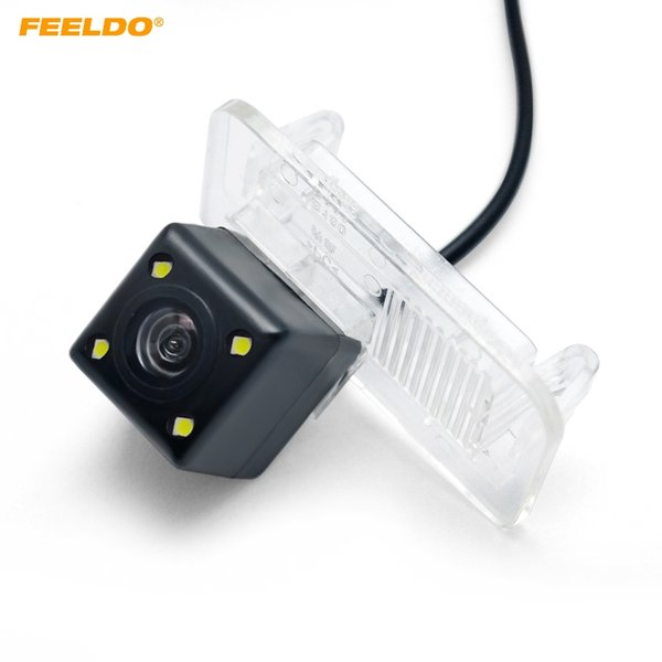 FEELDO Car Special Rear View Camera With LED Light For Mercedes Benz B200 Reverse Backup Camera #5706