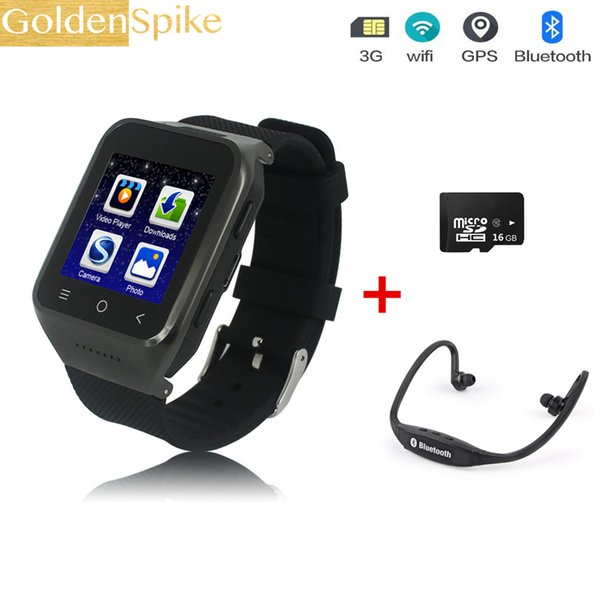 3G Clock Android Smart Watches S8 Support TD Screen 2MP HD Camera TF 32G Speaker SIM MAP GPS Receive Call Music S8 Smartwatch