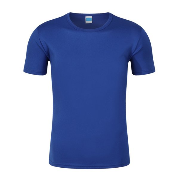 men sports t-shirt Fitness running tight tops sexy Round neck Short sleeves Quick-drying Stretch Gym clothes XL-2XL