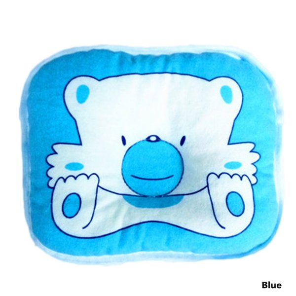 New Soft Lovely Bear Toddler Neck Protection Comfortable Cotton Oval Bedding Sleeping Shaping Pillow