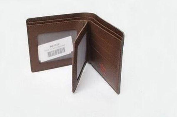 Hochwertige PU-Leder Mode Kreuz-Brieftasche Männer Designer-Karte Brieftaschen Tasche europäischen Stil Marke Geldbörsen mit Box mit Box oder keine Box