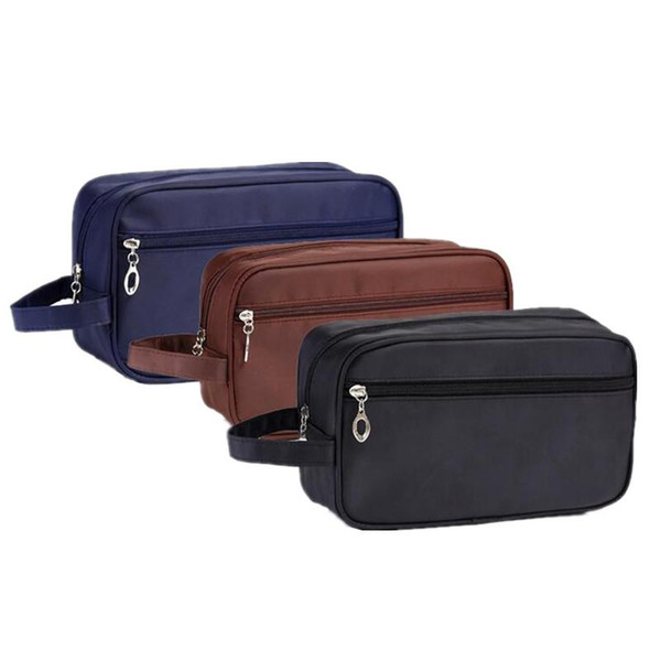 High Quality Men's Cosmetic Bags Organizer Makeup Wash Pouch Beauty Products Brushes Lipstick Storage Accessories Supplies