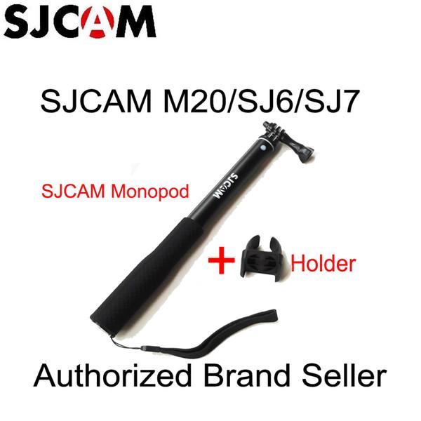 sjcam Orijinal CAM Selfie'nin Çubuk Monopod için selfie'si sopa A10 M20 SJ6 Legend SJ7 Yıldız SJ8 Serisi JCAM Spor Kameralar için kullanmak
