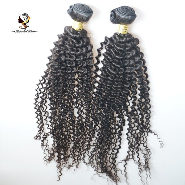 DHgate QDRapunzel Hair New Products Full cuticle aligned hair Jerry Curl brazilian human hair