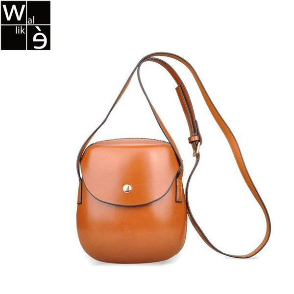 Wallike Moda Mini Cluth Shell Forma Crossbody Bag Coreano Japão Estilo Senhora Mensageiro Saco de Couro PU Sacos de Ombro Bolsa Diário