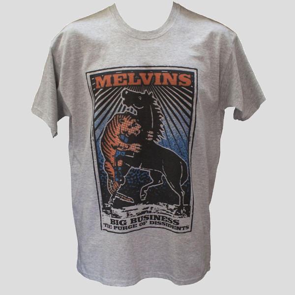 MELVINS футболка Soundgarden инструмент металл панк-рок графический музыкальная группа унисекс тройник