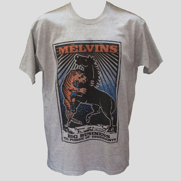 T SHIRT MELVINS Soundgarden Tool Metal Punk Rock Graphic Music Band Tee unisex