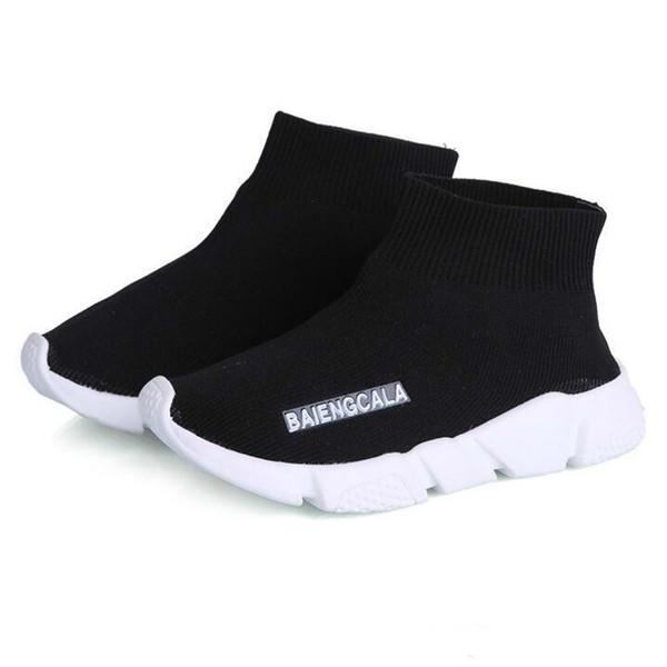 enfants garçons chaussures bébé running sneakers bottes enfant en bas âge garçon et filles laine tricoté chaussettes athlétiques chaussures livraison gratuite