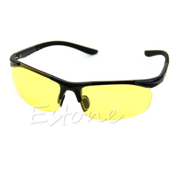 NEW Night Vision Driving Sunglasses Car Anti-Dazzling Goggle Sun Visor Glasses