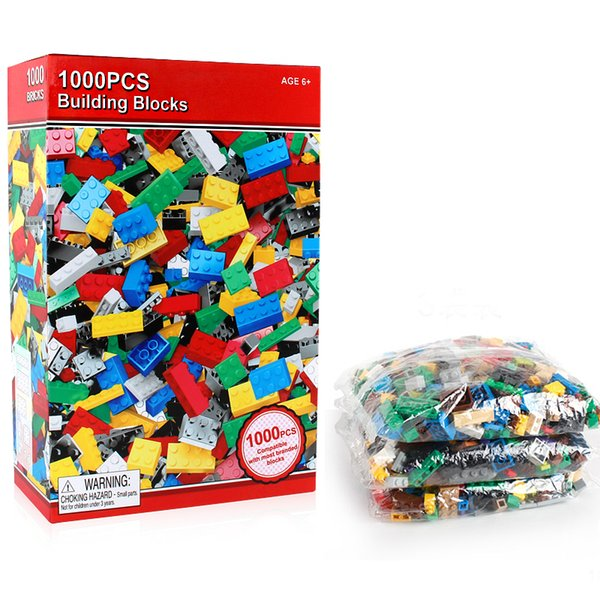 1000 Pieces Building Block DIY Kids Creative Bricks Toyswooden Block For Children Compatible With City Birthday Gift